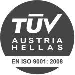 Πιστοποιημένοι από την TUV AUSTRIA HELLAS
